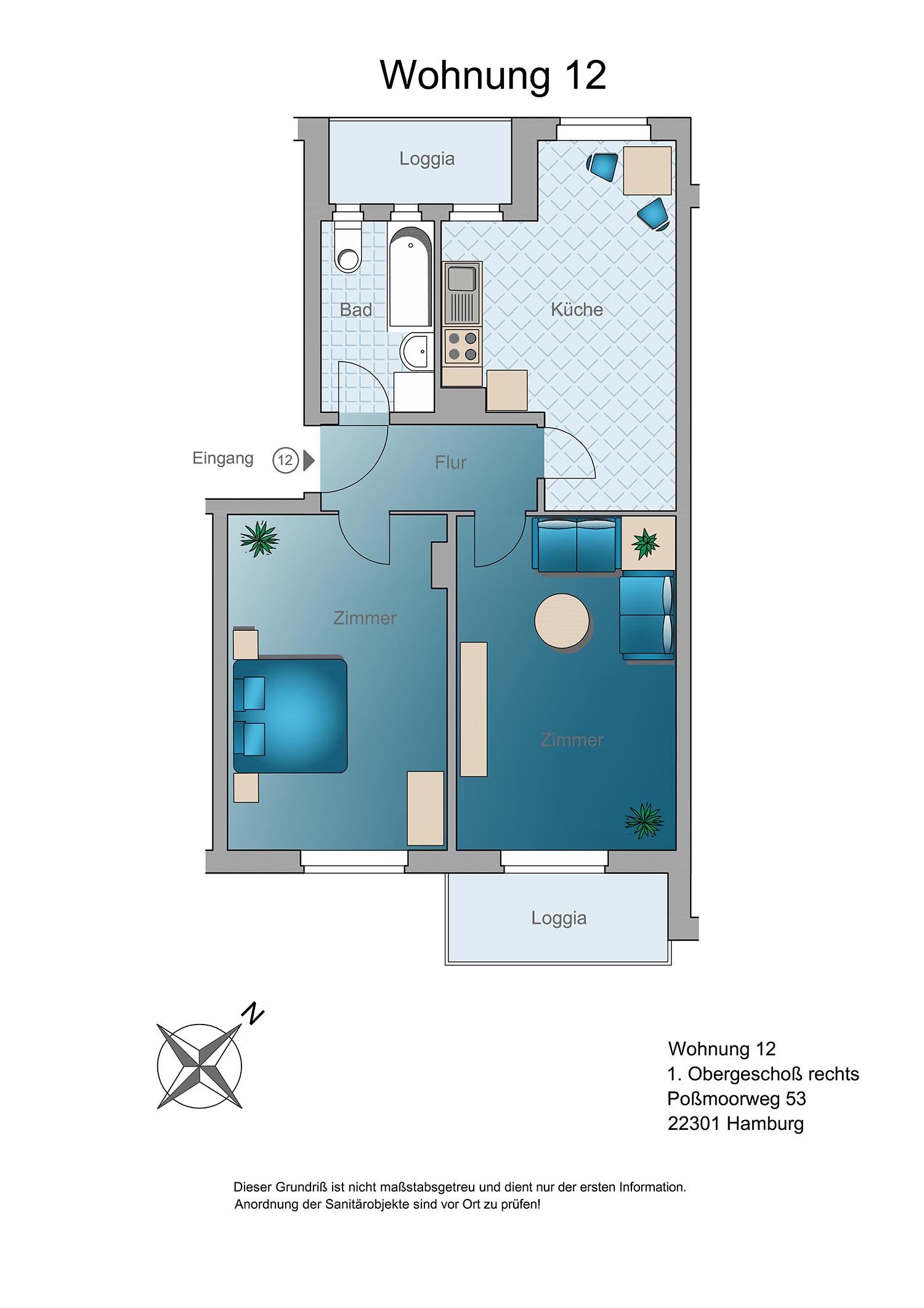zuhause in winterhude wohnen im herzen hamburgs. Black Bedroom Furniture Sets. Home Design Ideas